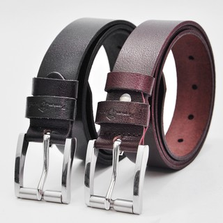 Thắt lưng nam da bò Khóa Inox Anh Tho Leather - Da bò nguyên miếng 100% thumbnail