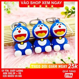 Móc khóa Doraemon ✅ FREESHIP  Có video thật  Móc khóa Doraemon dễ thương Doremon cute - Phát Huy Hoàng