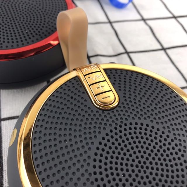 Loa Bluetooth Nghe Nhạc Mini Bs119 Kiểu Dáng Nhỏ Gọn Vỏ Chống Thấm Âm Thanh Trong Đọc Thẻ Nhớ Và Cổng 3.5