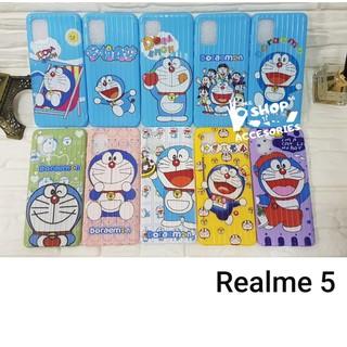 Ốp Điện Thoại Silicon Hình Doraemon Cho Realme 5 thumbnail