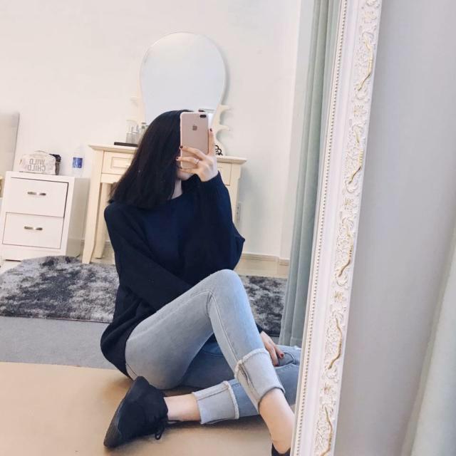 Áo len sạn tiêu dáng Miss hàng Quảng Châu
