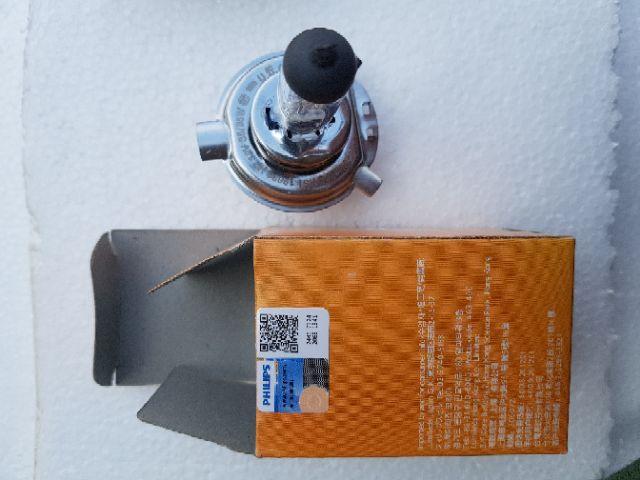 Bóng đèn pha 35W tăng sáng Philips Premium H4 HS1 12V 35W Sirius Taurus Wave Click AirBlade 125 Philip + 30%