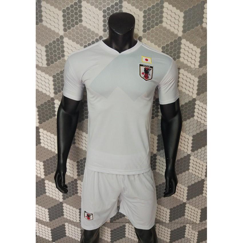 Quần áo bóng đá World Cup 2018 tuyển Nhật Bản xám