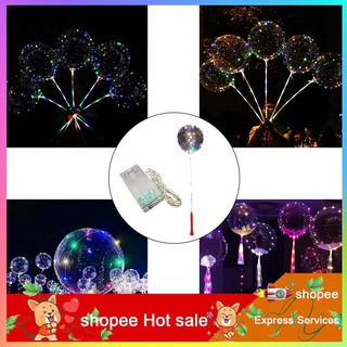 ✬✬✬LED Luminous Balloon String Light Transparent Wedding Birthday Party Decoration