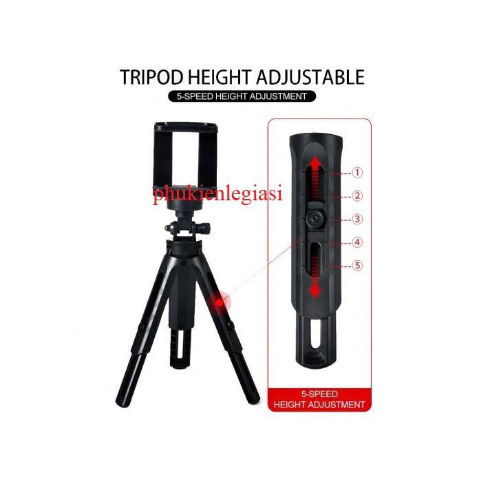 Gậy Tripod 360 độ 3 chân đa năng
