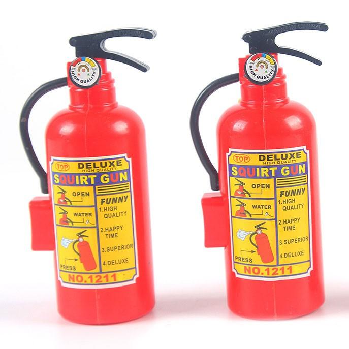 Đồ chơi trẻ em Bình cứu hỏa mini - Bình chữa cháy phun được nước Đồchơitrẻem