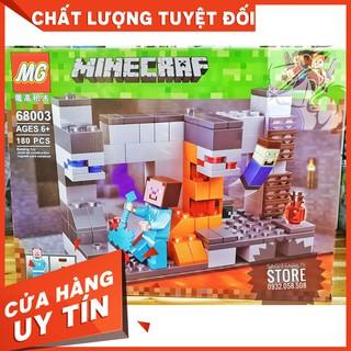 [HOT]Lego Lắp Ráp Nhà MineCraft – MG 68003 ( 180 Mảnh )-Hàng có sẵn