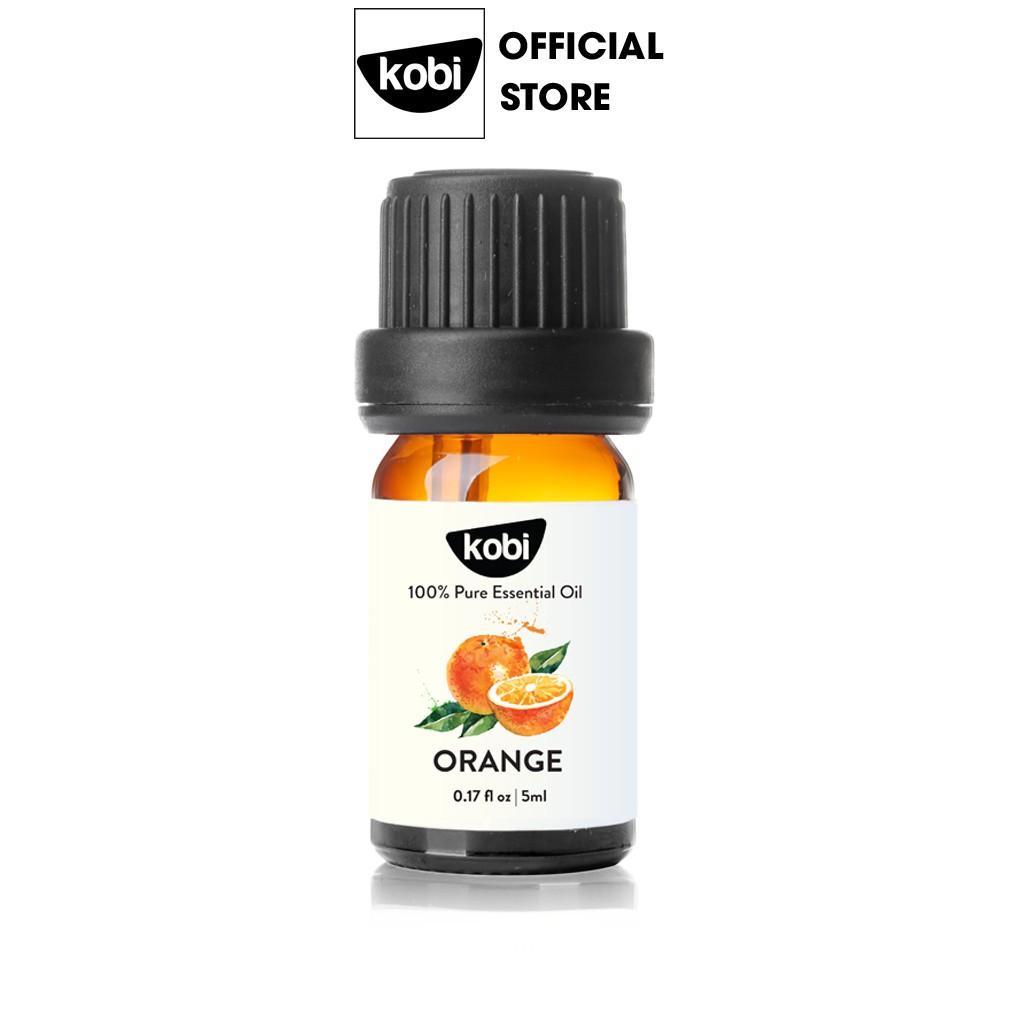 Tinh dầu Cam Ngọt Kobi giúp thơm phòng, chống trầm cảm, kích thích miễn dịch - 5ml