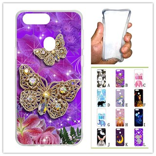 For OPPO R11S Butterfly Soft Silicon Case