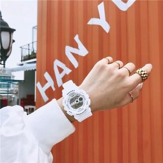 [FreeShip – Sale khô máu] Đồng hồ thể thao nam nữ SHHORS Dây Nhựa đồng hồ nam nữ dây nhựa cao cấp
