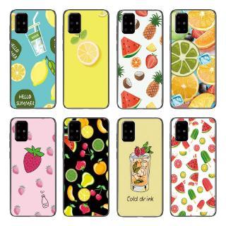Ốp lưng TPU mềm họa tiết trái cây đáng yêu cho Samsung Galaxy A71 A51 A41 A31 A21 A11 thumbnail