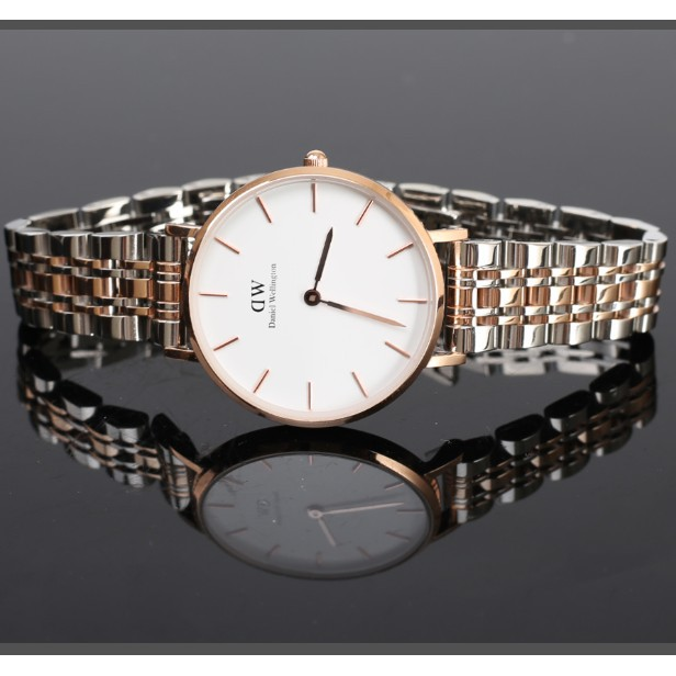 Daniel Wellington นาฬิกาควอทซ์รุ่นล่าสุดอย่างเป็นทางการ DWนาฬิกาข้อมือแฟชั่น นาฬิกาข้อมือคู่รัก