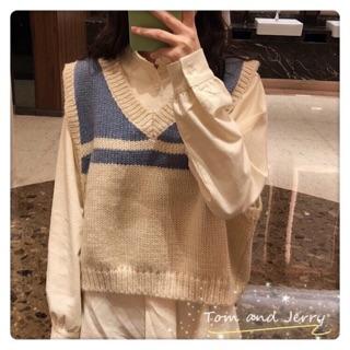 Áo Sweater Dệt Kim Mỏng Co Giãn Tốt Kiểu Hàn Quốc Xinh Xắn Cho Bé Gái