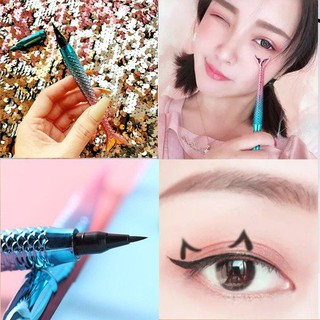Kẻ Mắt Bút Kiss Beauty Tiên Cá Vẩy Xanh Auth Nội Địa thumbnail
