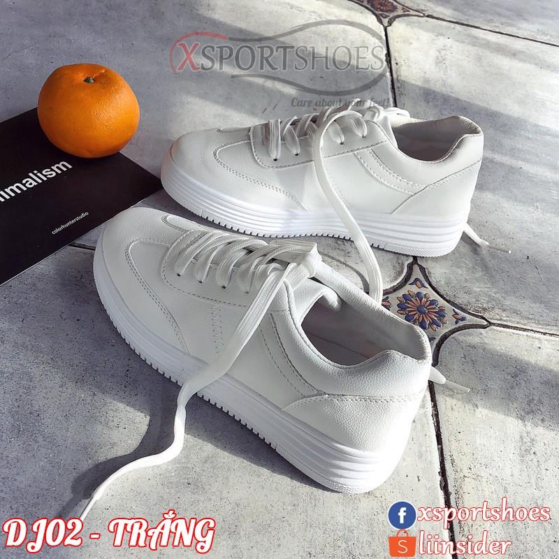 Giày thể thao nữ đế cao 4cm - Giày nữ ulzzang da PU cổ thấp DJ02 - 2415205 , 975330263 , 322_975330263 , 350000 , Giay-the-thao-nu-de-cao-4cm-Giay-nu-ulzzang-da-PU-co-thap-DJ02-322_975330263 , shopee.vn , Giày thể thao nữ đế cao 4cm - Giày nữ ulzzang da PU cổ thấp DJ02