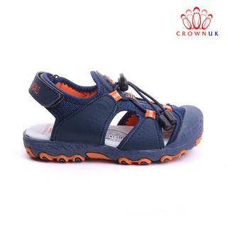 [Mã KIDMALL15 hoàn 15% xu đơn 150K] Giày xăng đan rọ bít mũi Crown UK Space Cruk804 Sandal cho bé trai