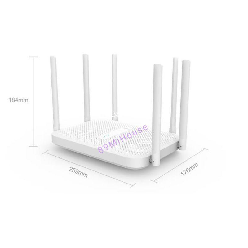 Bộ Phát Wifi XIAOMI Redmi Router AC2100 - Router Wifi 6 Râu Redmi AC2100