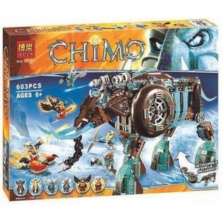 Bộ mô hình LEGO robot voi Chima bela 10297