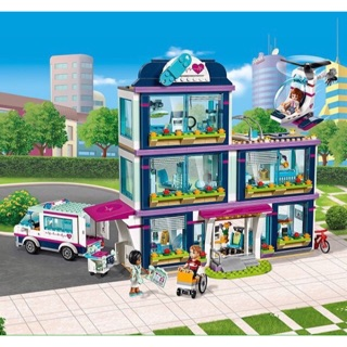 Lego friends 37036 + 10139 bệnh viện lớn thành phố