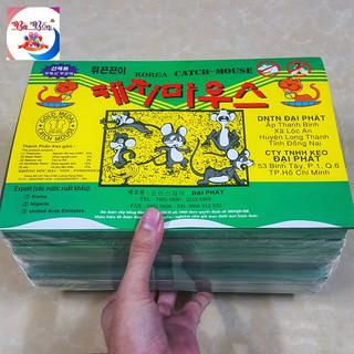 [Cực Dính] Combo 20 keo dính chuột dính chuột Hàn Quốc | 20 Miếng keo bẫy dán chuột Korea
