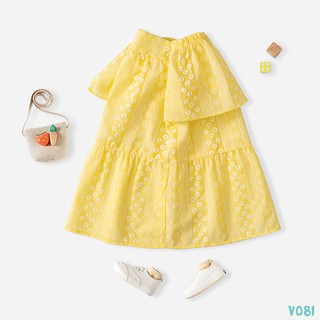 [Mã FASHIONGREEN94 giảm tới 30K đơn 99K] Váy Bé Gái 2 Màu Xinh Xắn Thời Trang Bello Land thumbnail