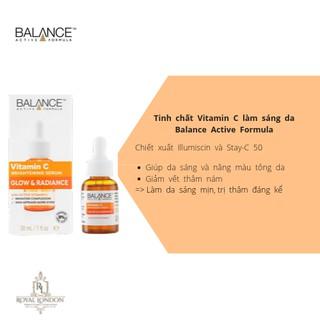Hình ảnh [Mã COSFS3 giảm 10% đơn 150K] Serum Trắng Da, Mờ Thâm Balance Active Formula Vitamin C Brightening 30ml-1