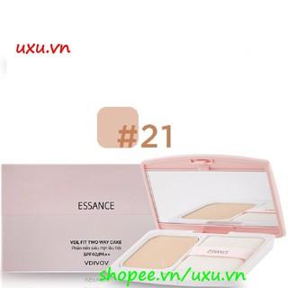 Phấn Phủ Lâu Trôi Số 21 Màu Tự Nhiên Essance Siêu Mịn Veil Fit Two Way Cake 11G, Với uxu.vn Tất Cả Là Chính Hãng. thumbnail