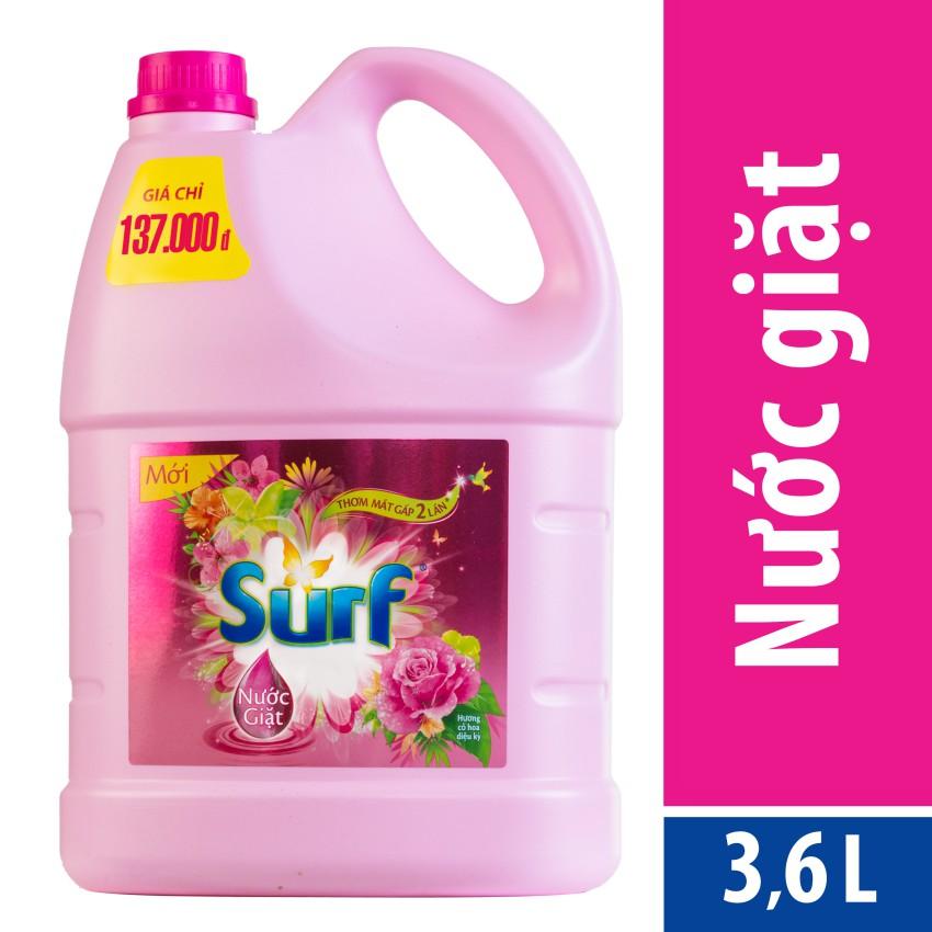 Nước giặt Surf 3.8kg