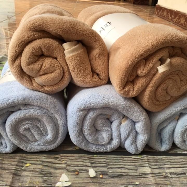 Khăn Tắm Lông Cừu Size Lớn 70x140cm Xuất Hàn -00257
