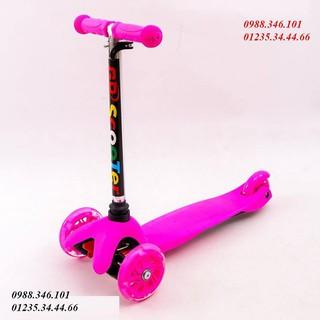 Xe đẩy ,Xe trượt scooter 3 bánh ( Hàng loại 1 có ảnh thật)