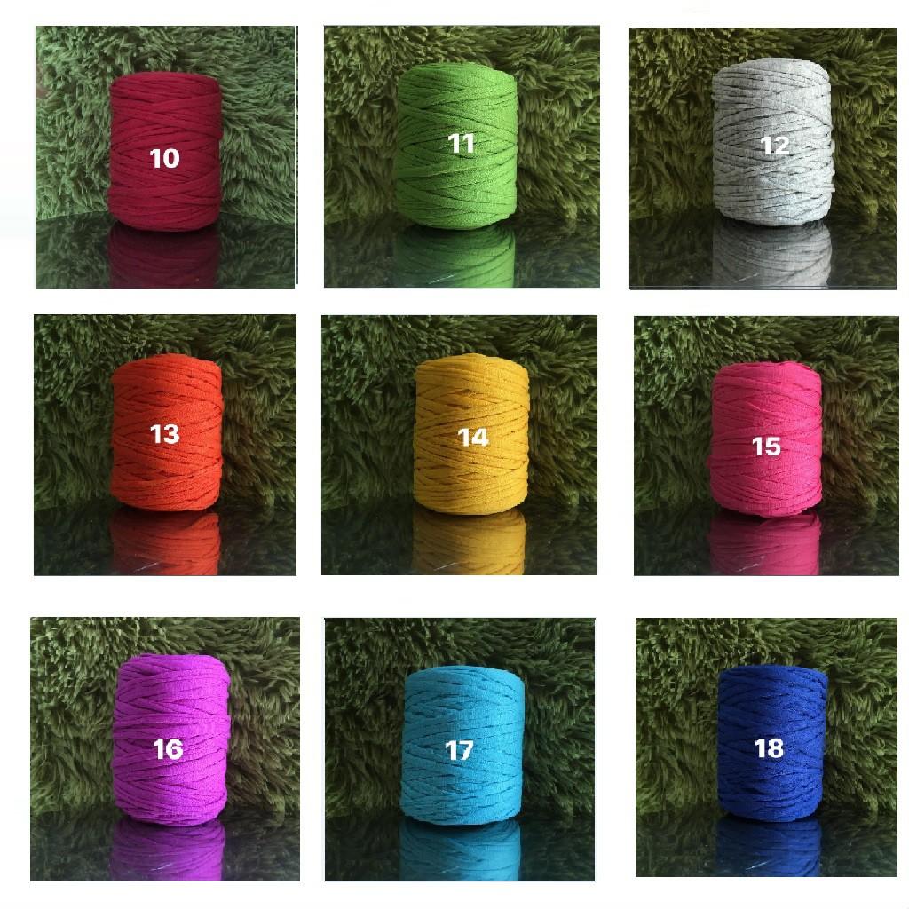 Sợi vải 250 gram bảng màu 1-20