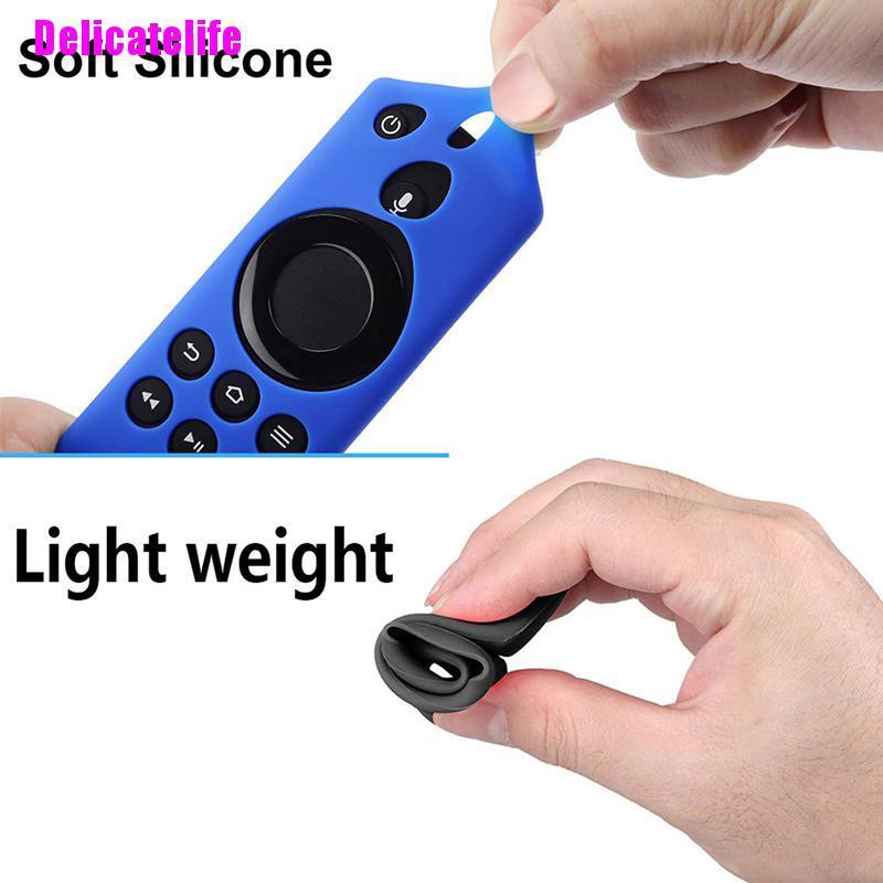 Ốp Silicone Bảo Vệ Điều Khiển Từ Xa Dành Cho Tv Fire Tv Stick 4k