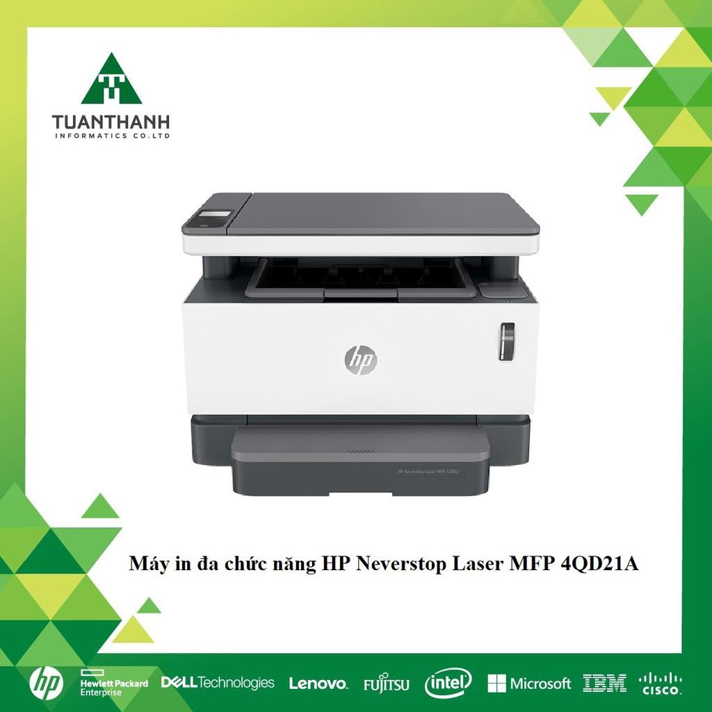 Máy in đa chức năng HP Neverstop Laser MFP 1200a,1Y WTY_4QD21A - Hãng Chính Hãng