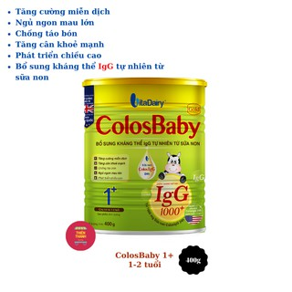 Sữa ColosBaby Gold 1 400g