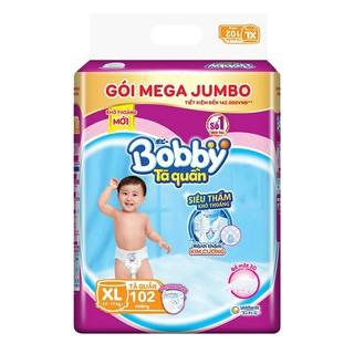 Ta quâ n Bobby Mega Jumbo M120 L111 XL102 XXL93 miê ng