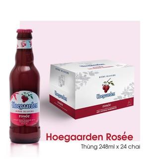 [Chính hãng, Date dài] Bia Hoegaarden Rosée 248ml x 24 chai