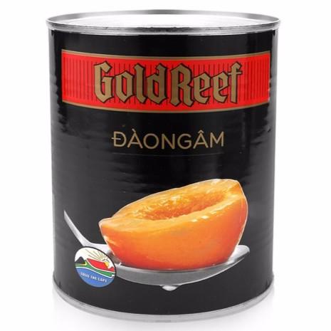 Đào Ngâm Gold Reef Lon 825g
