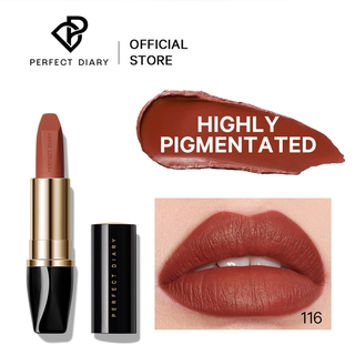 Son lì Perfect Diary Highly pigmented Rouge Ultimate Color Matte Lip Makeup 12 Shades 3g thumbnail