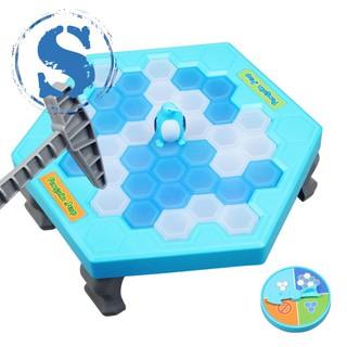 Ice Breaking Save The Penguin Kids Fun Board Game Table Fidget Breaker Bricks Toy Gags Practical Jok
