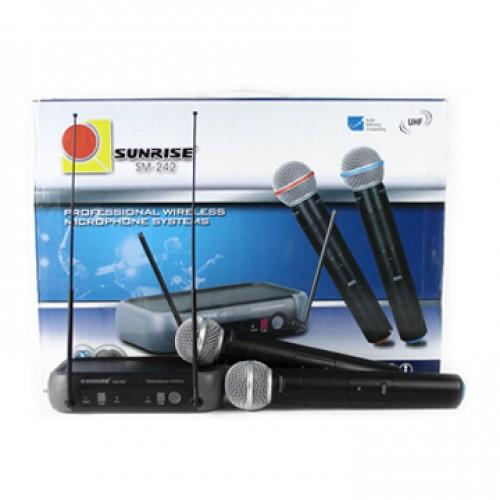 Micro Karaoke Không Dây Sunrise SM 242