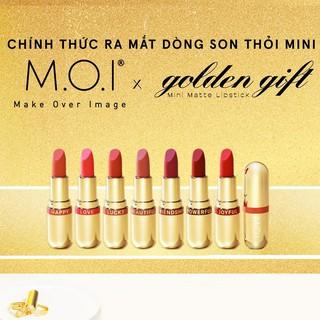 [Mã COS0303 giảm 8% đơn 250K] Bộ sưu tập Son thỏi lì mini M.O.I Golden Gift Hồ Ngọc Hà thumbnail