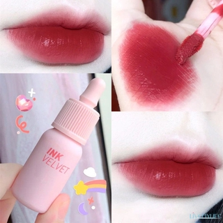 Beauty☛ Cute 6color Matte Dyeing Lip Gloss Moisturizer Non-Stick Cup Lipstick Batom Waterproof Long Lasting Lip Tint ☂
