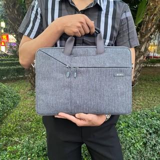 [Cam kết chính hãng] Túi Xách + Đeo cao cấp WIWU Laptop Sleeve Case cho Macbook/Laptop – 13/14/15 inch (Màu xám)