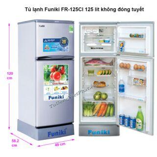 Tủ Lạnh Funiki FR 125lít