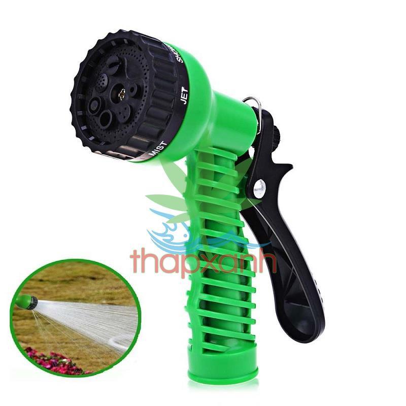 Vòi xịt nước tưới cây, rửa xe, phun sương đa năng (7 trong 1) chất lượng cao