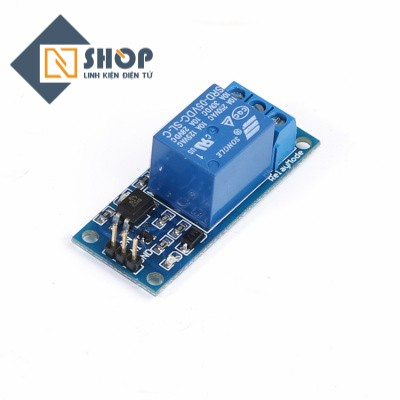 Module 1 Relay Với Opto Cách Ly Kích Mức Cao (5VDC)