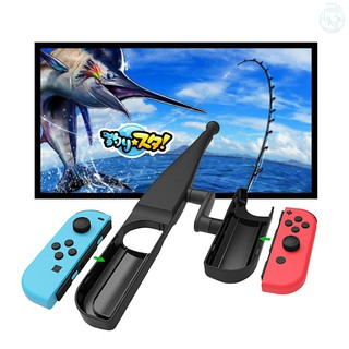 【kiss】Fishing Rod for Nintendo Switch Joy-Con Fishing Game Kit for Switch Controller