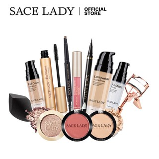 SACE LADY Concealer Makeup Set 12 Pcs Base Cosmetics Bundle 250g thumbnail
