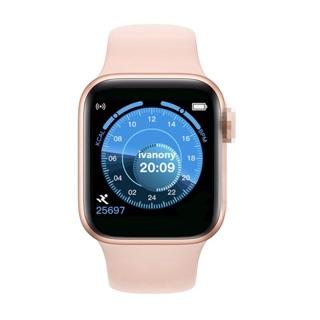 Đồng hồ thông minh T500 thay được dây seri 4 kết nối bluetooth nghe gọi nhắn tin đo nhịp tim tiện dụng