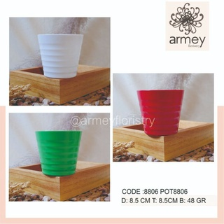 Bình Hoa Nhựa Mini Trang Trí Nhà Cửa 8806